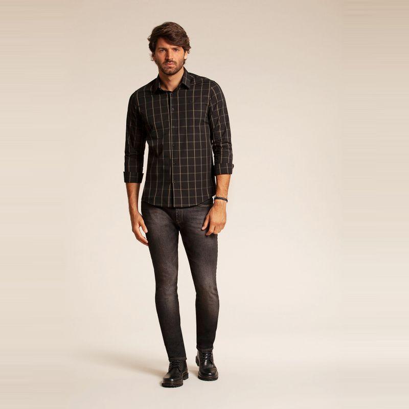 Camisa manga longa xadrez 85101072-1541_2