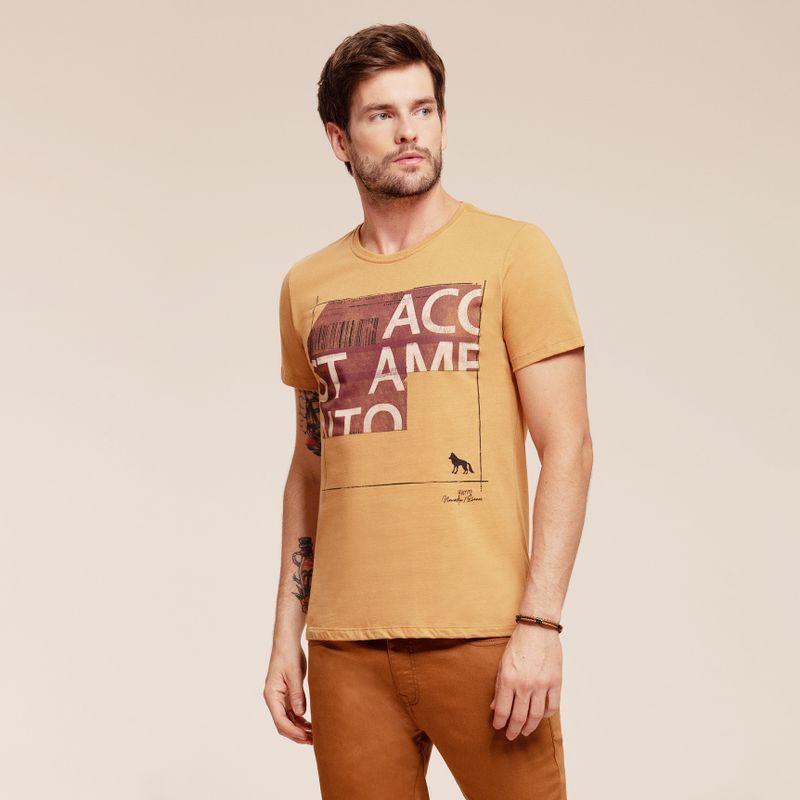 Camiseta manga curta estampa Lettering 87102031-1641_1