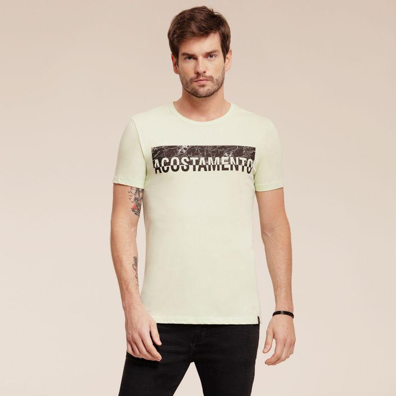 Camiseta manga curta estampa Lettering 87102060-1459_1