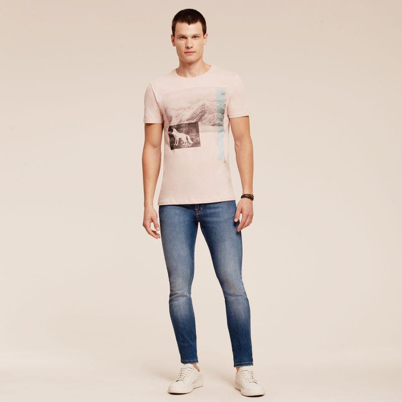 Camiseta manga curta estampada 87102054-1455_2