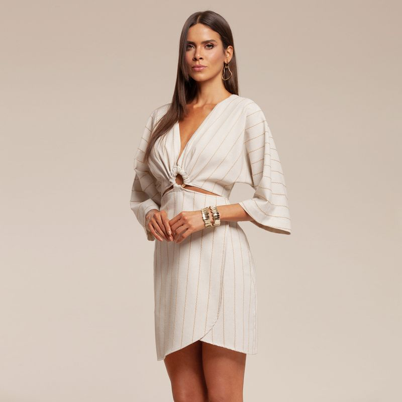 Vestido crepe listrado com transpasse 87212017-1667_2