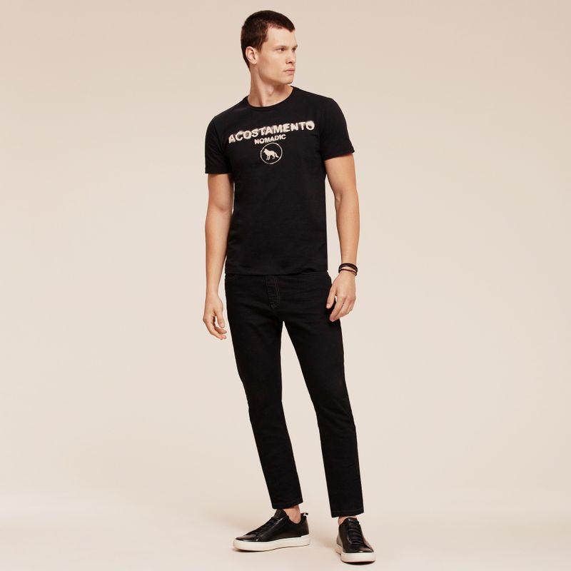 Camiseta manga curta estampa Lettering 87102165_21_2