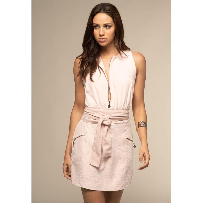Vestido Detalhe Pala Cintura 88212069--1775_2