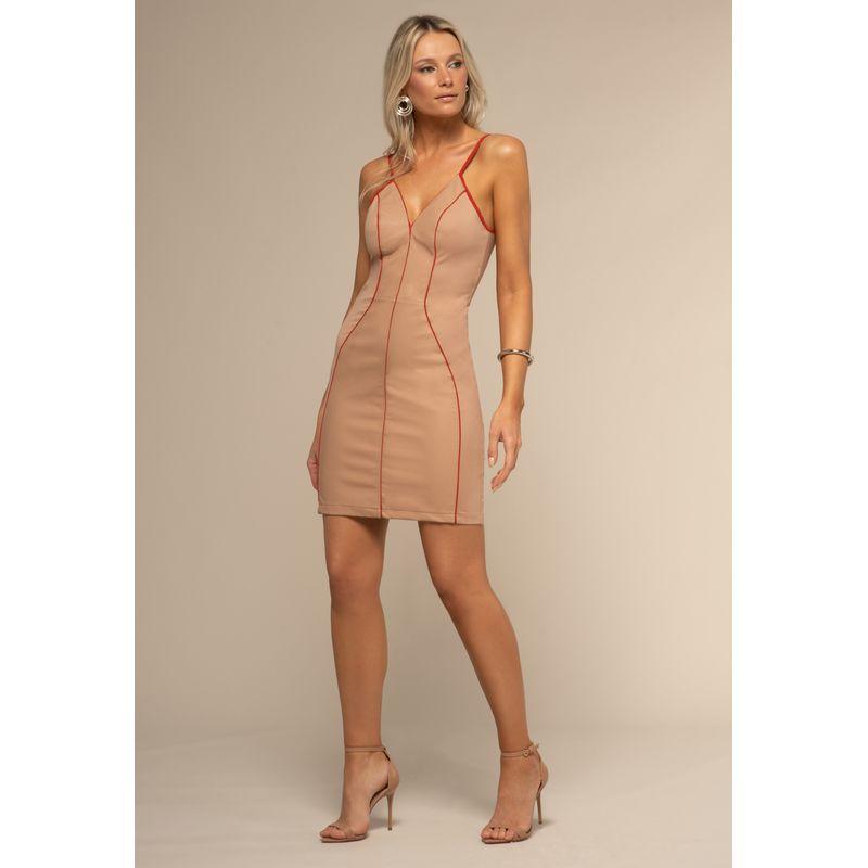 Vestido Couro Fake Detalhe Viscose 88212002--1667_1