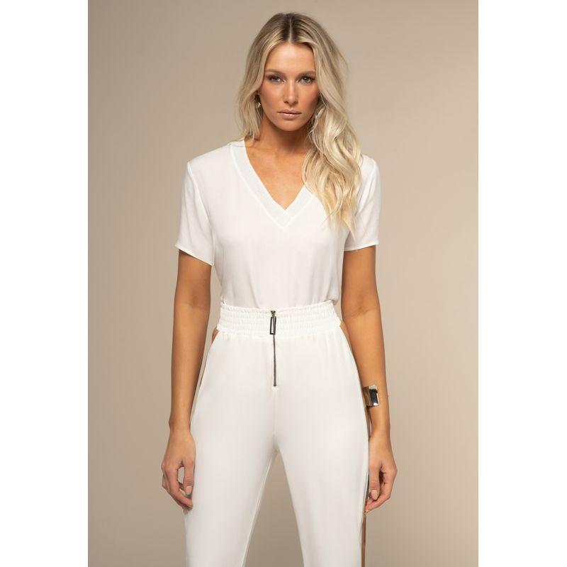 T-Shirt Crepe Gola Tricot Metalizado 88205172--92_1