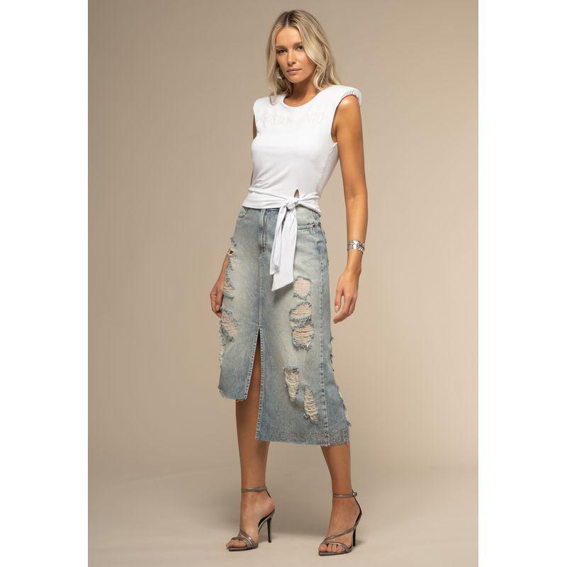 Saia Midi Jeans Detalhes Destroyed 88227003--905_2