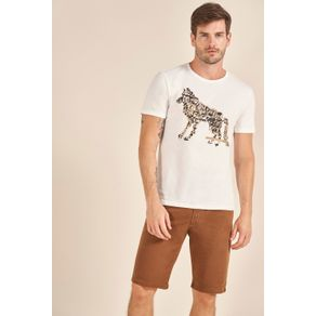 Camiseta-Acostamento-Casual-Wolf-Off-White