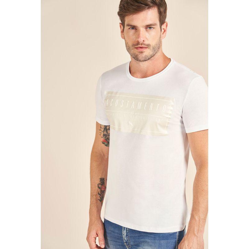 Camiseta-Acostamento-Casual-Lettering-Branco