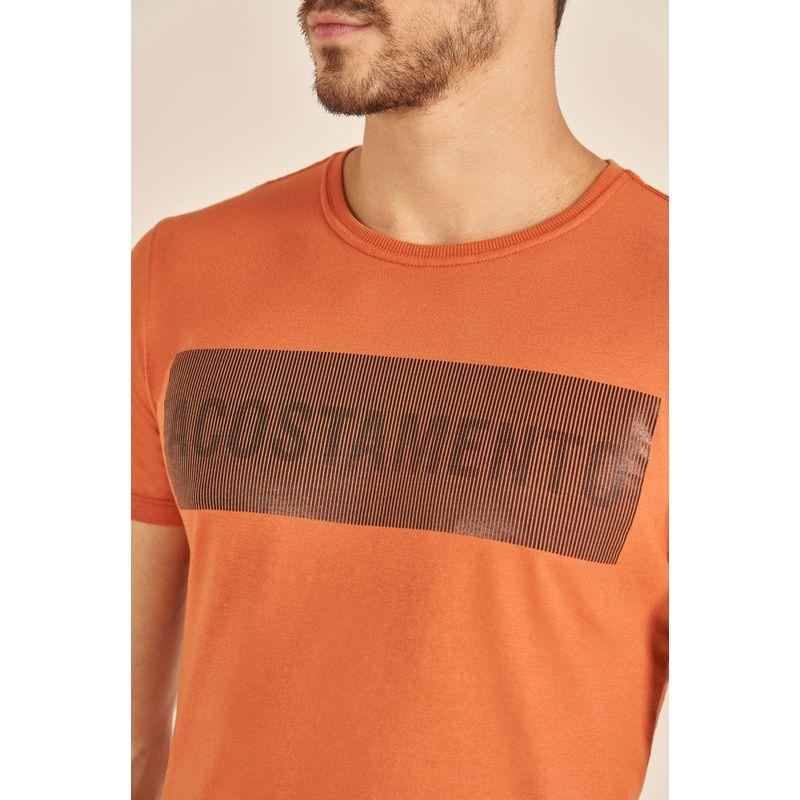 Camiseta-Acostamento-Casual-Lettering-Laranja-Cordoba