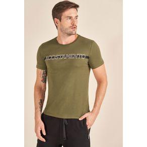 Camiseta-Acostamento-Casual-Lettering-Verde