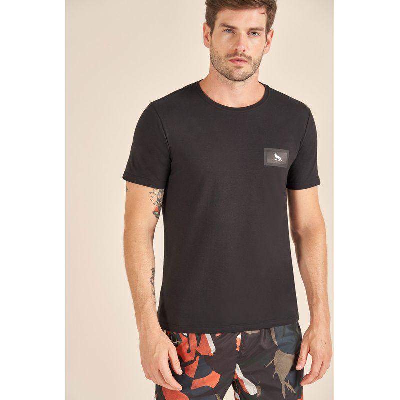 Camiseta-Acostamento-Casual-com-Aplicacao
