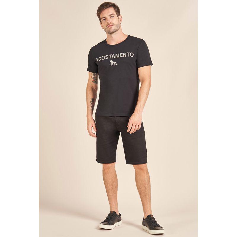 Camiseta-Acostamento-Casual-Lettering