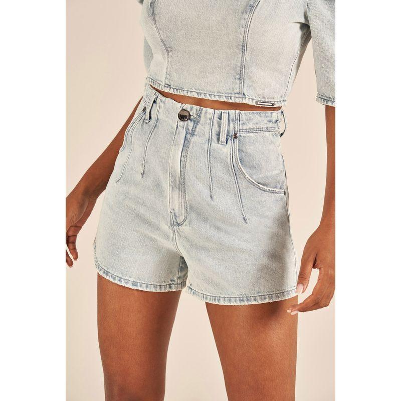 Short Jeans Cintura Alta Cindy 89224015-2