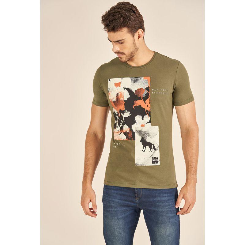 Camiseta-Acostamento-Casual-Estampada