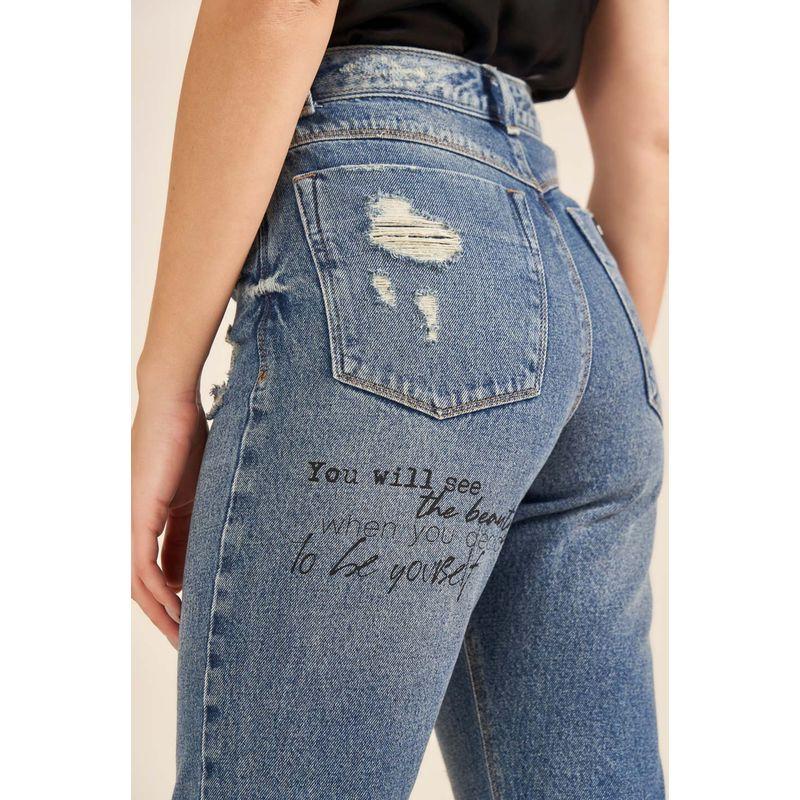 Calça Jeans Feminina Gigi Acostamento 90213017-3