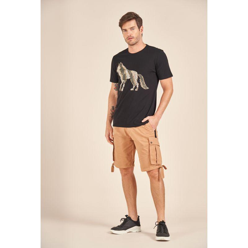 Camiseta-Acostamento-Casual-Estampa-Wolf-Dots