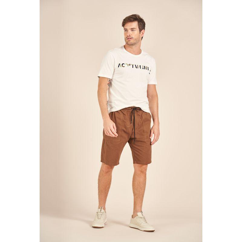 Camiseta-Acostamento-Casual-Off-White-Estampa-Lettering