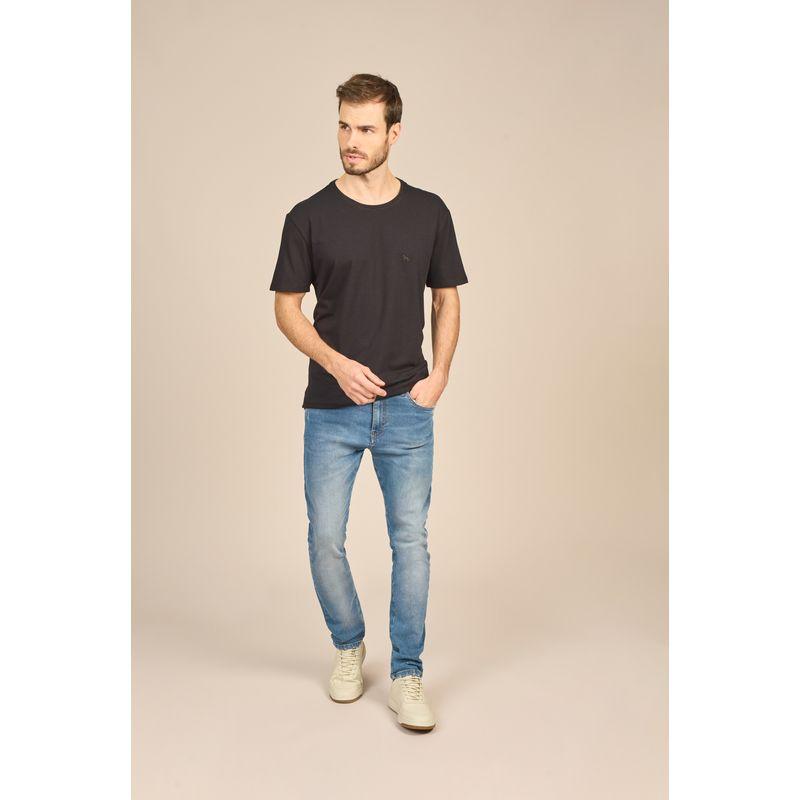 Camiseta Masculina Básica Malha Conforto Acostamento 88102001--4-