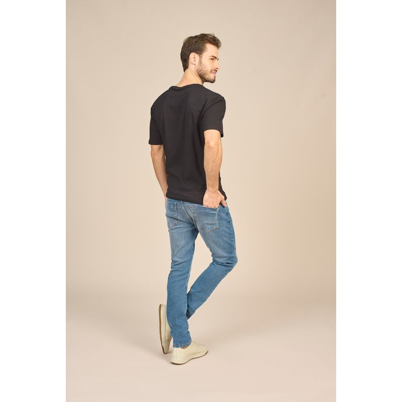 Camiseta Masculina Básica Malha Conforto Acostamento 88102001--3-
