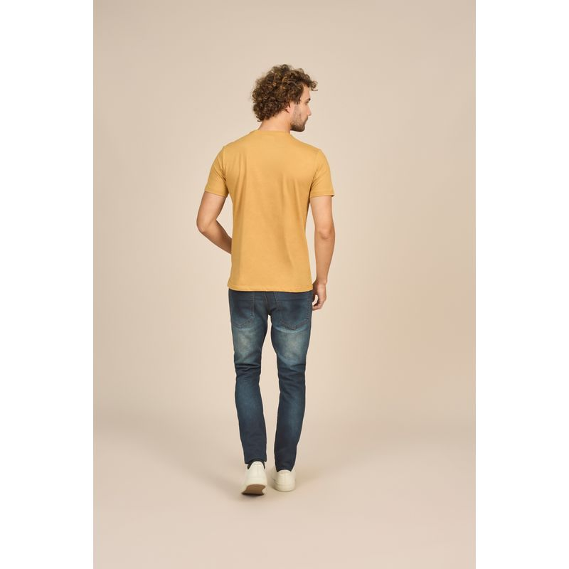 Camiseta Masculina Casual Estampa em Quadricromia Acostamento 88102015--6-
