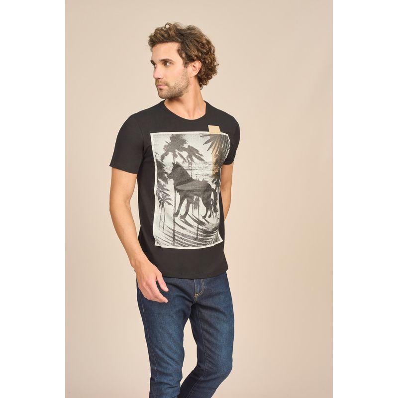 Camiseta Acostamento Casual Wolf 88102016--2-