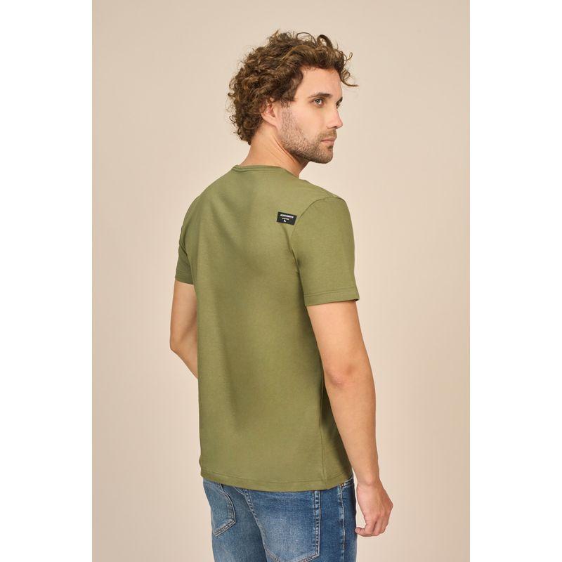 Camiseta Masculina Casual Estampa Lobo Acostamento 88102027--1-