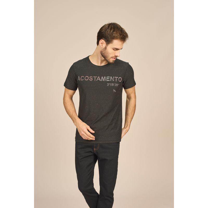 Camiseta Masculina Casual Estampa Lettering Acostamento 88102028--1-