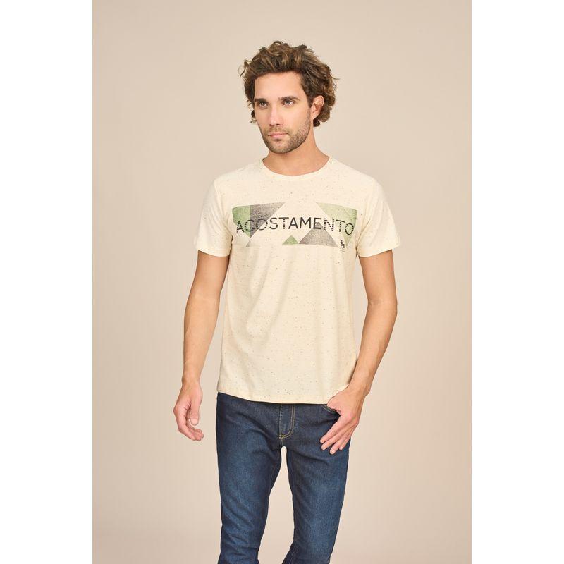 Camiseta Masculina Casual Estampa Lettering Acostamento 88102029--2-