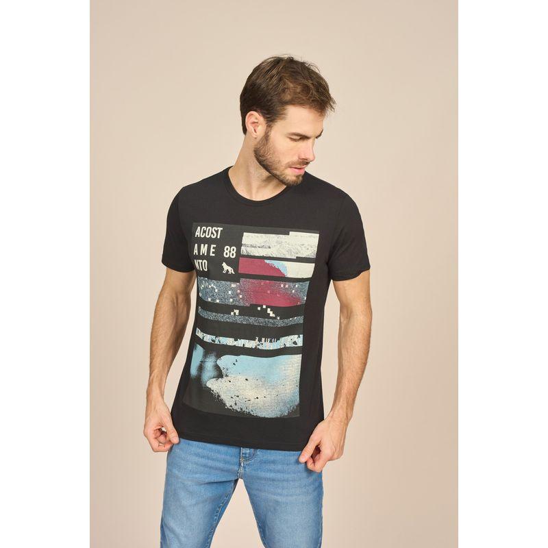 Camiseta Masculina Casual Estampada Acostamento 88102032--1-