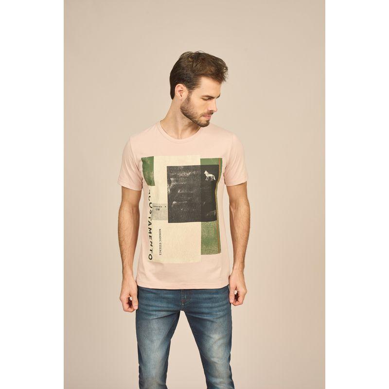 Camiseta Masculina Casual Estampada Acostamento 88102037--3-