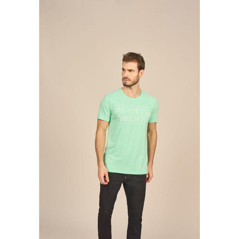 Camiseta Masculina Casual Estampa Alto Relevo Acostamento 88102040--1-