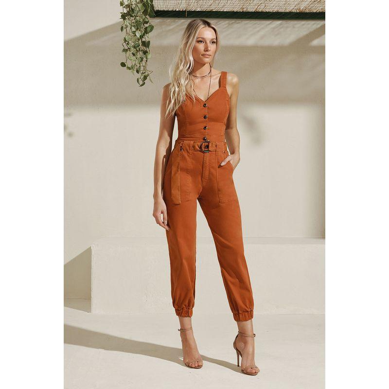 Top Cropped Jeans Botões Frontais Acostamento 89205301_1880
