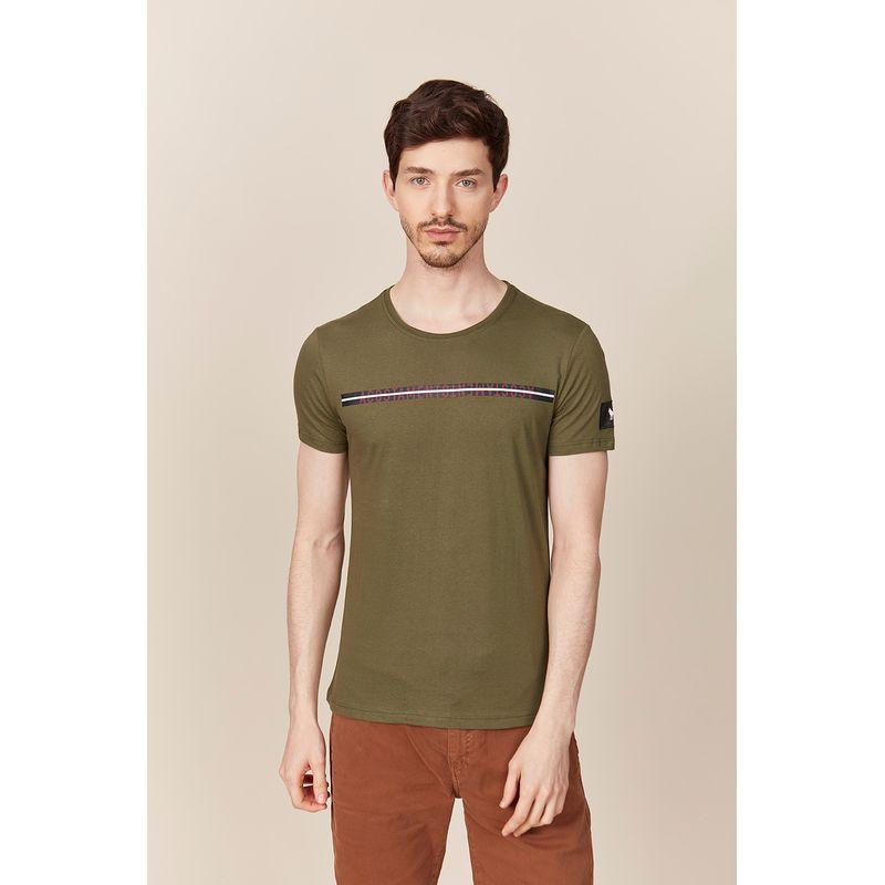 Camiseta Masculina Listras Horizontais Acostamento 89102111--7-