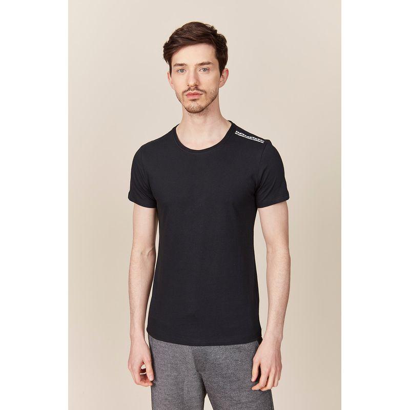 Camiseta Masculina Detalhe Ombro Acostamento 89102064--3-