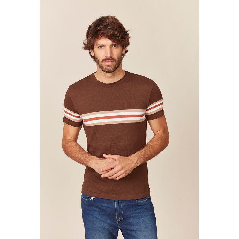 Camiseta Tricot Masculina New Basic Acostamento 89142010
